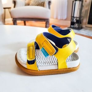 Baby boys yellow native sandals